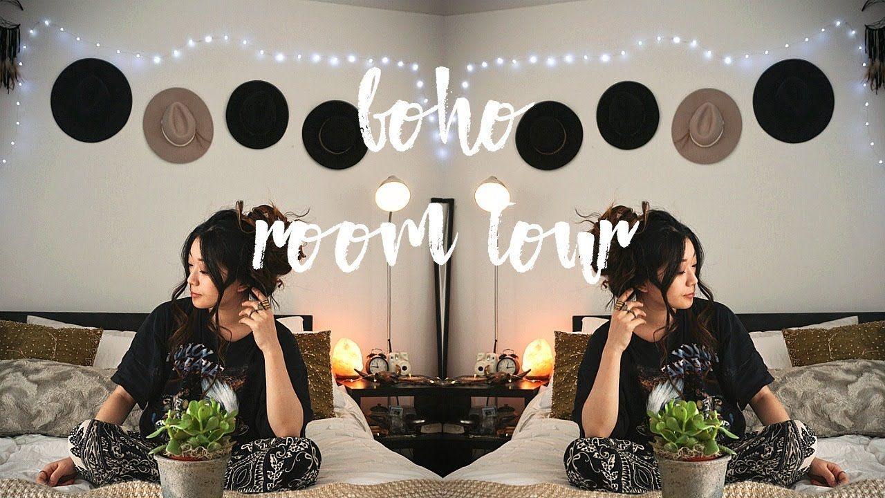 Boho Tumblr Inspired Room Tour My Toronto Apartment Youtube