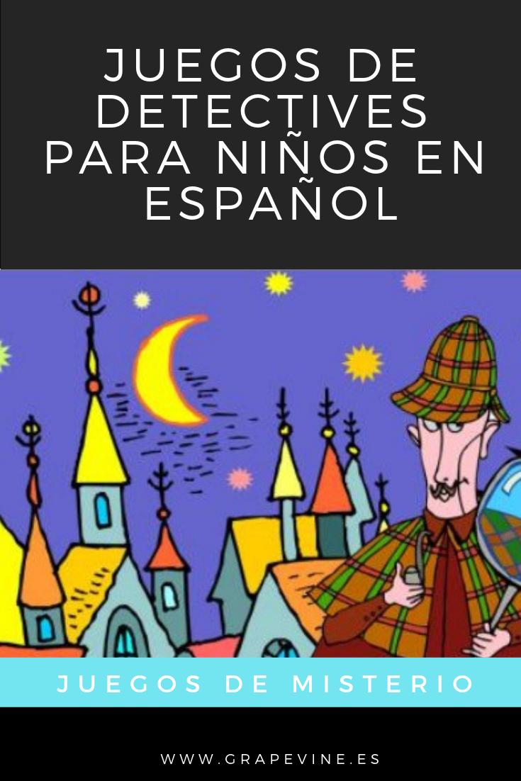 Juegos De Detectives Para Niños En Español Enigmas Para Niños Retos Para Niños Juegos De Misterio