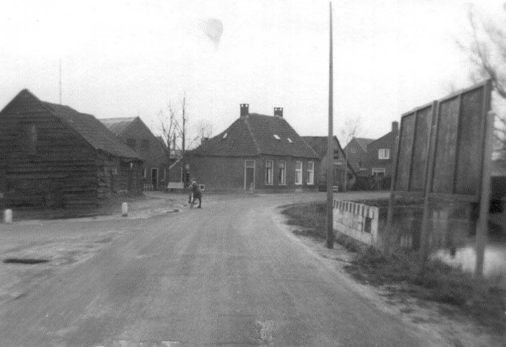 Hoek wolfsbosstraat het Haagje