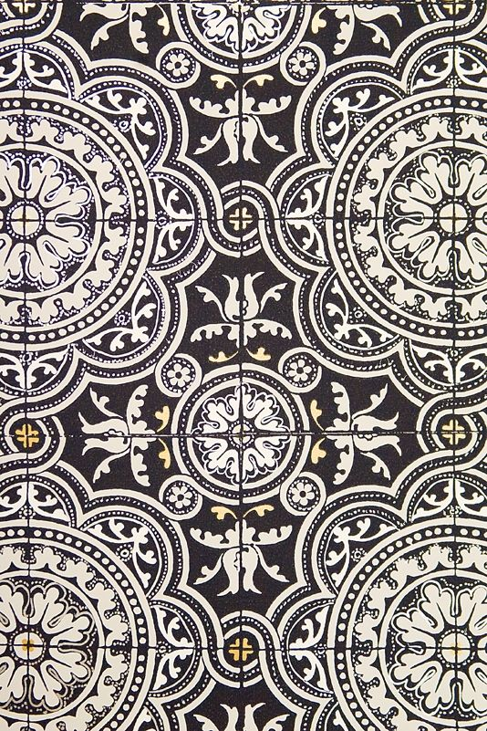 Piccadilly Wallpaper Gold Tile Black And White Wallpaper Tile Wallpaper