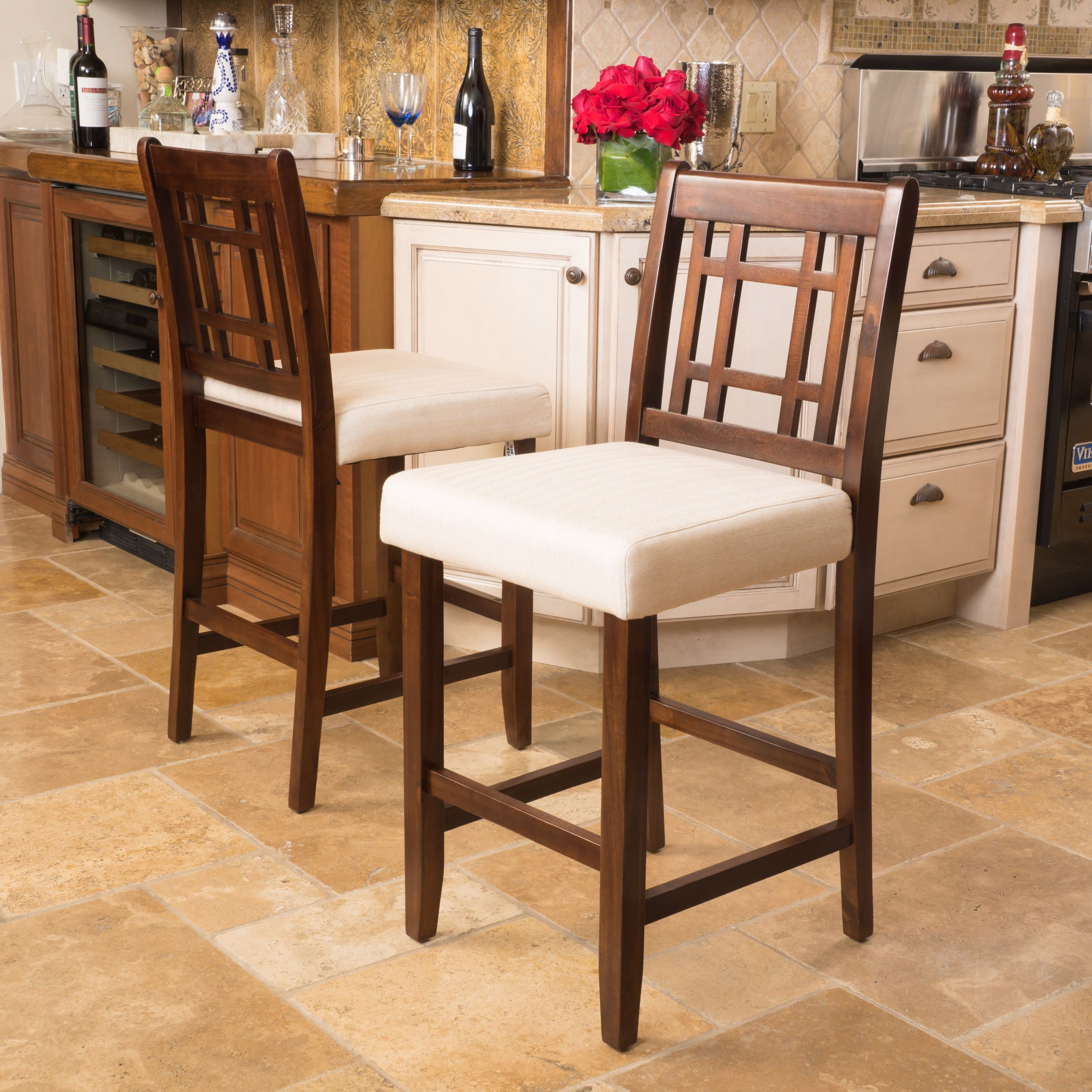 Christopher Knight Home Nadia Wood Counter Stool   Products   Pinterest