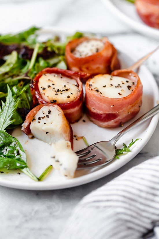 Air Fryer Bacon Wrapped Scallops Recipe in 2020 (With
