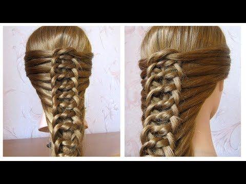 Tuto Coiffure D Ete Tresse Diademe Tiare Pour Cheveux Mi Long