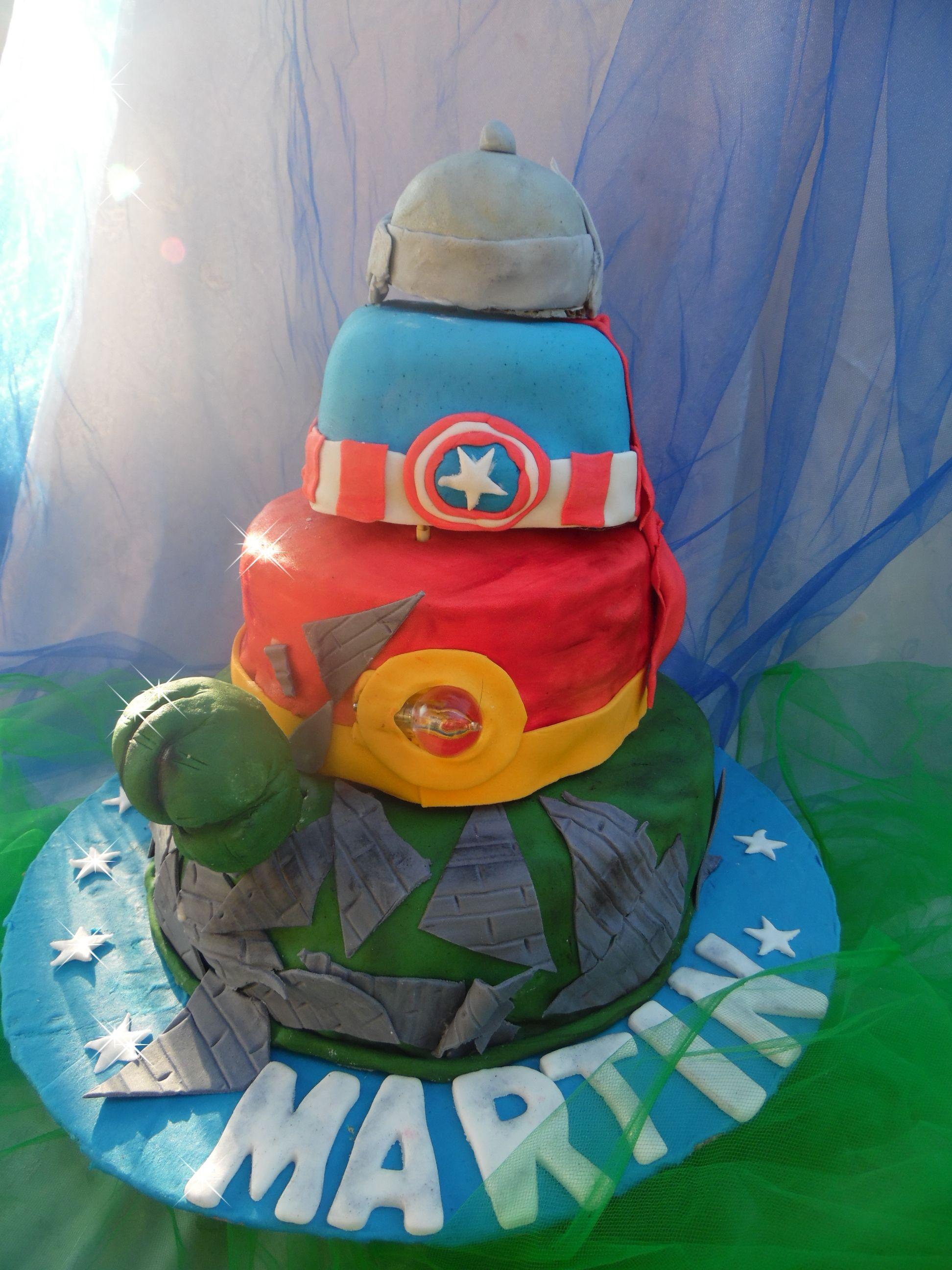 Torta de Los Vengadores