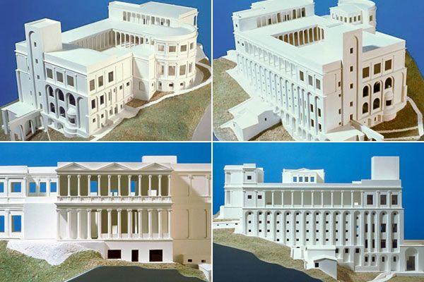 Reconstruction of the Villa Jovis the Emperor Augustus