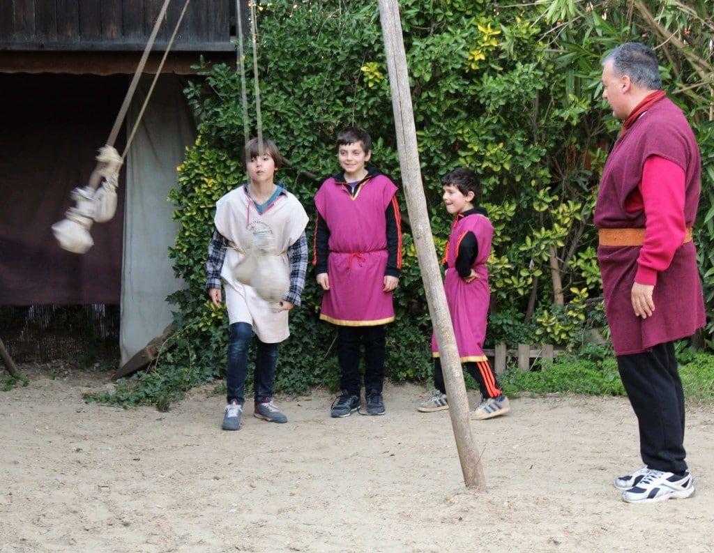 Rome Gladiator School Fun And Educationnal