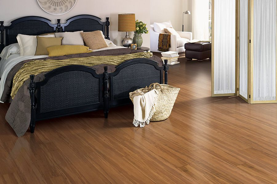 Caramel bamboo #laminate wood floors for bedroom. | Unique ...