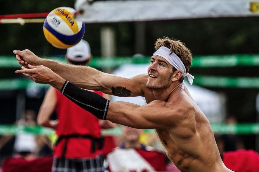 Martin Reader 2012 Canadian Olympian Volei, Esporte