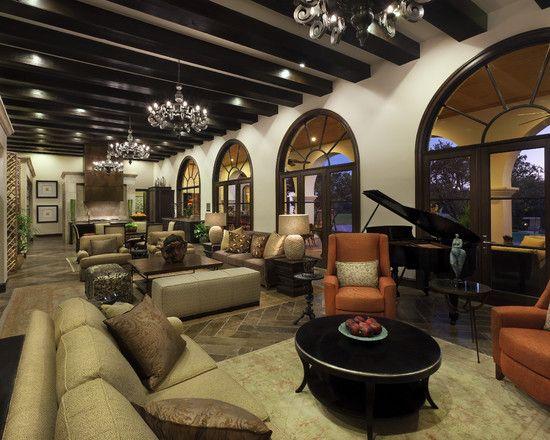 Luxury Modern Country Home In Clean Lines Design Fantastic Open Floor Plan Interior Design