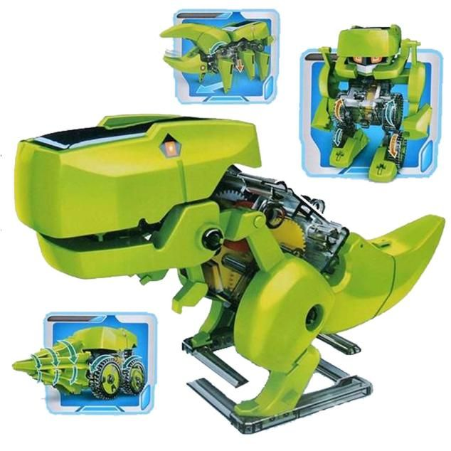 DIY Assemble 4 In 1 Educational Solar Robot Drilling ...