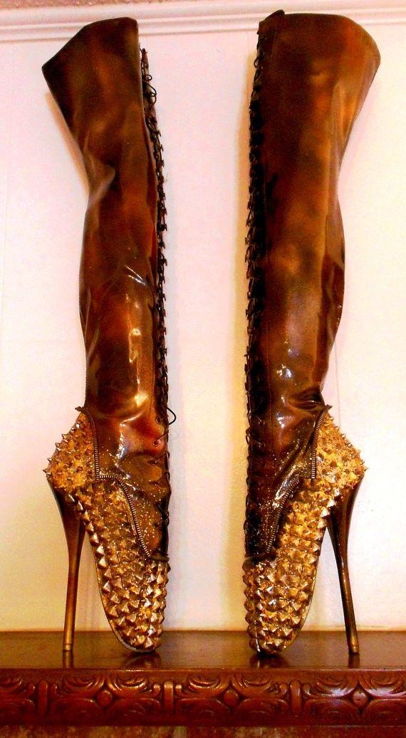 Ballet  Studded Heels