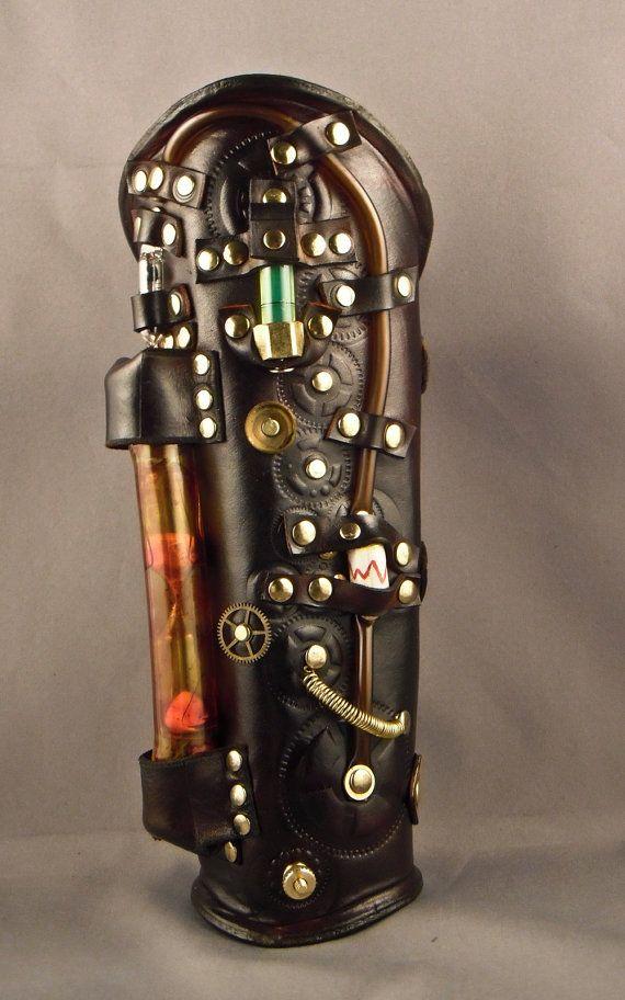 Steampunk bracer |