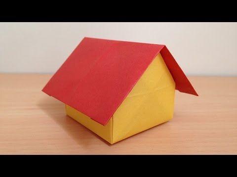 70 折り紙 ドールハウス 家 折り方 Origami Dollhouse Youtube Origami Box Origami Paper Crafts