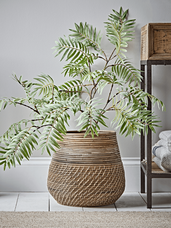 New Tapered Round Rattan Basket Storage Baskets Laundry Bags Storage Furniture Drawers Ladders S Indoor Flower Pots Indoor Plant Pots Indoor Flowers