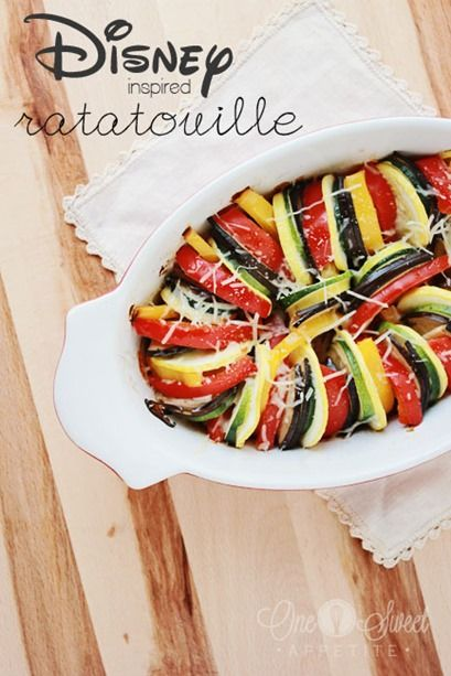 Ratatouille Recipe Inspired By The Classic Disney Movie One Sweet Appetite Recipe Easy Ratatouille Recipes Recipes Ratatouille Recipe