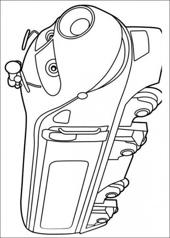 Chuggington Coloring Pages Picture 3 | Toddler amusement | Pinterest ...