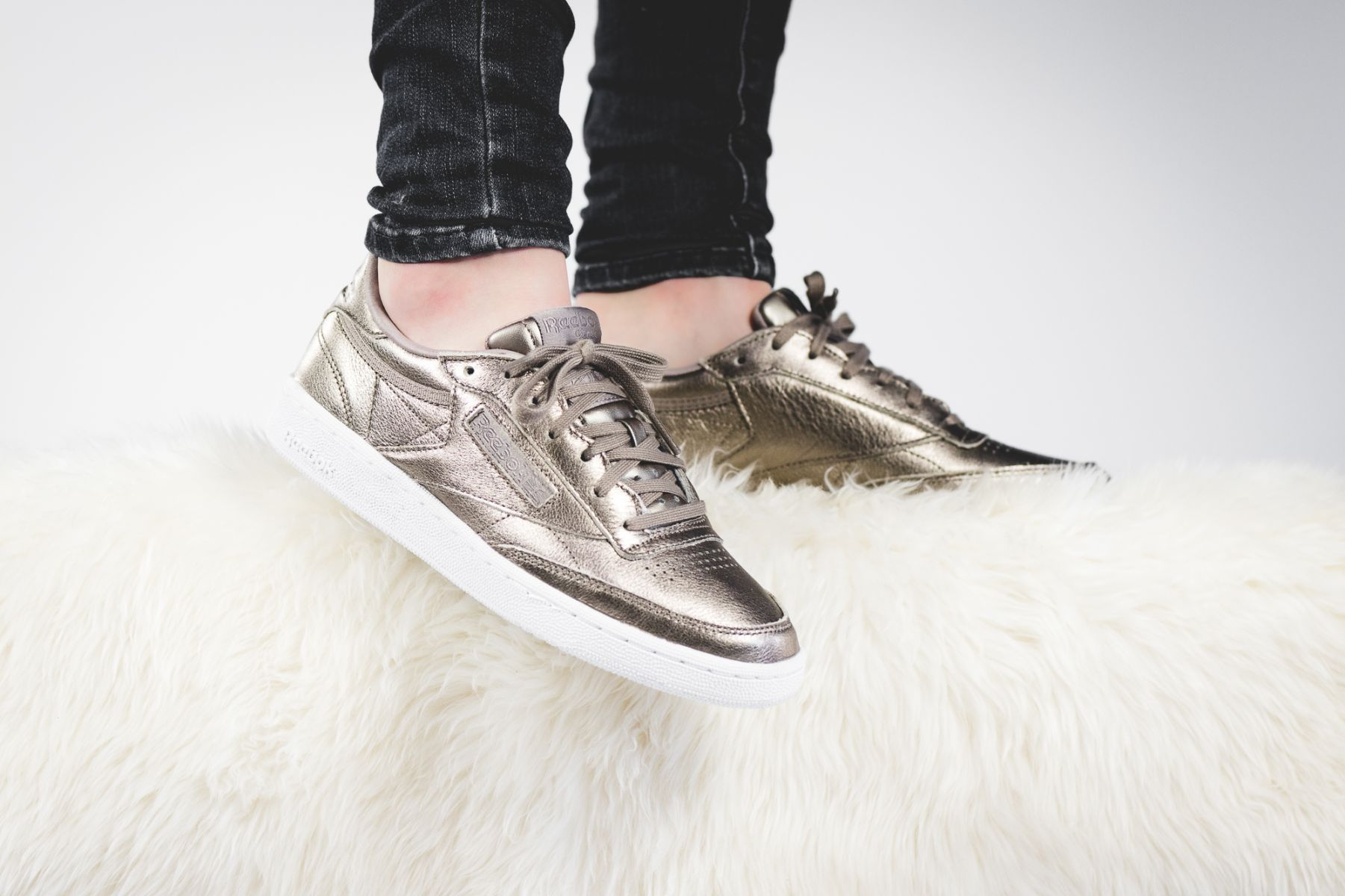55edfb497a5 Reebok Club C 85 Melted Metal (gold) - BS7901