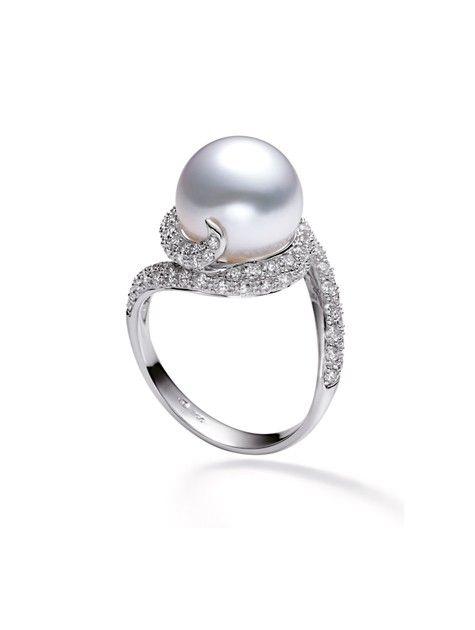 Rhapsody Ring - White South Sea
