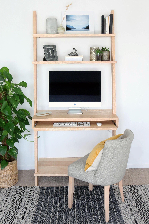 Olive Ladder Desk - Large - Maple