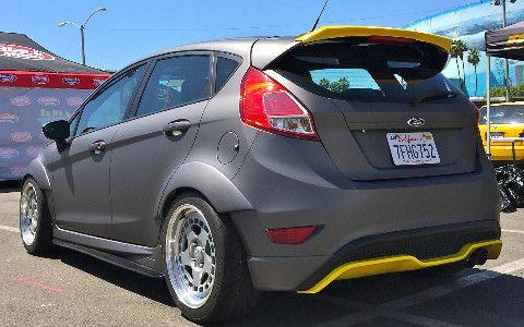 Mk7 Fiesta St Frp Rear Spoiler Extension Fiesta St Ford Fiesta St Fiesta
