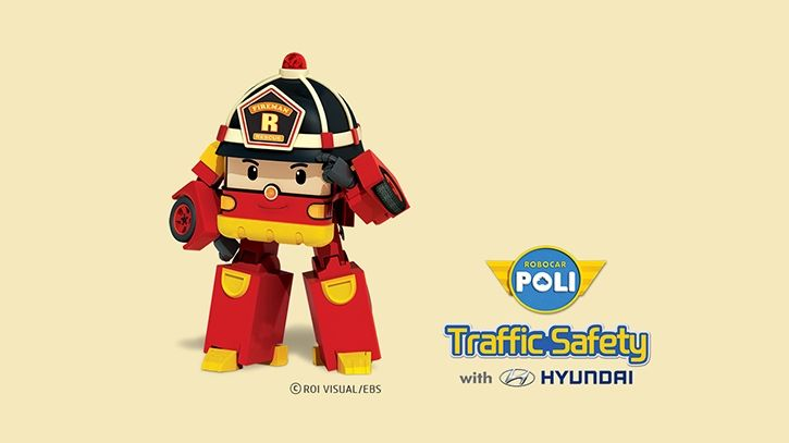 Wallpaper Decorate With Poli Hyundai Motor Robocar Poli