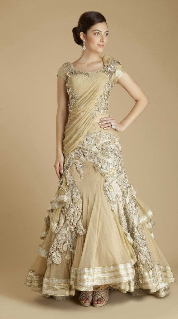 Indo Western Wedding Gowns Indo Western Bridal Gowns