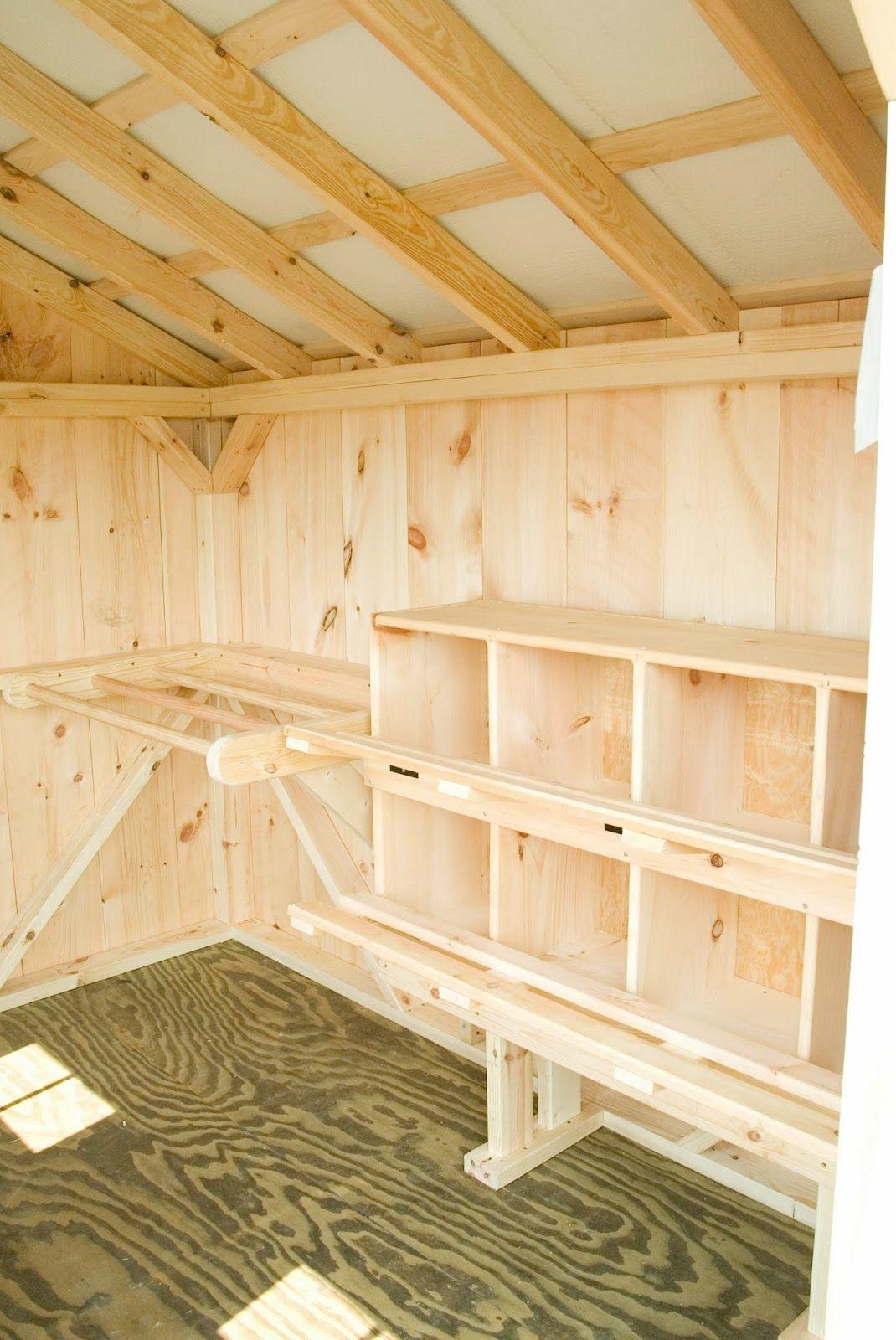 Inside chicken house plans