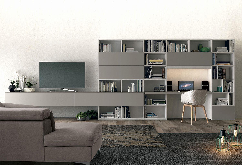 Meuble Tv Avec Bibliothèque bibliothèque bureau intégré design nouveau meuble