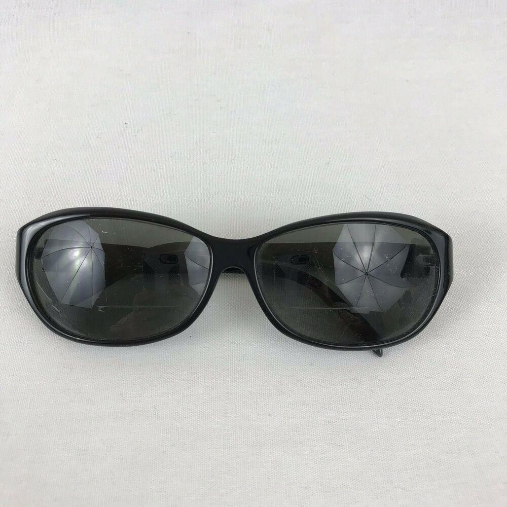 Adrienne Vittadini. Solid Black. Black eyeglasses frames
