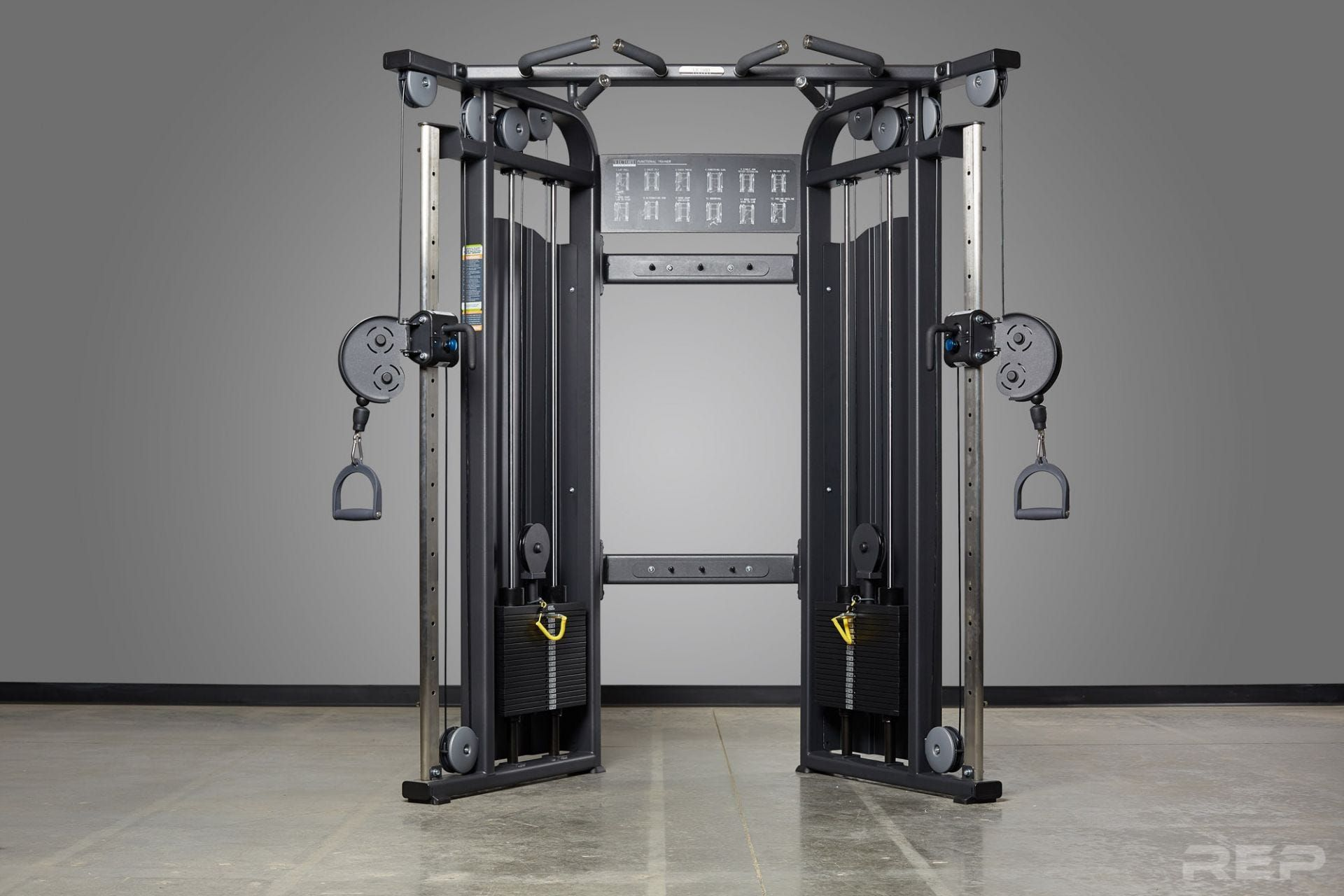 Rep Ft 5000 Functional Trainer Cable Machine At Home Gym Home Gym