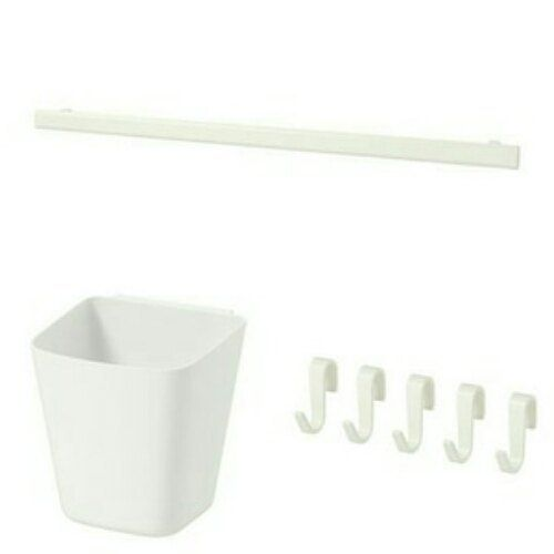 Ikea Sunnersta Rail Hooks And Hanging Container Children Room
