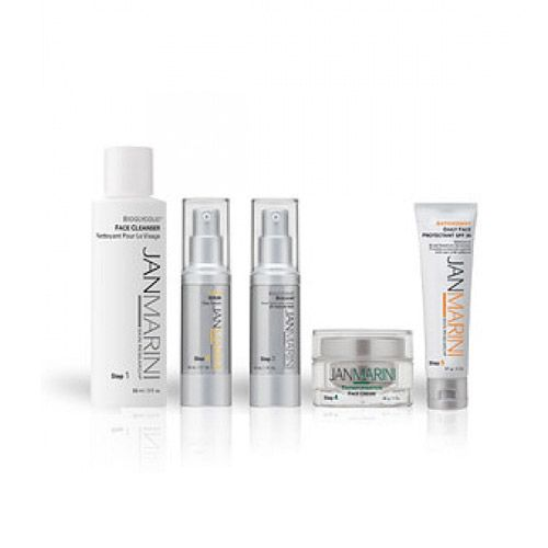 With purchase of Jan Marini System Kit. Get a holiday exfoliant for free!