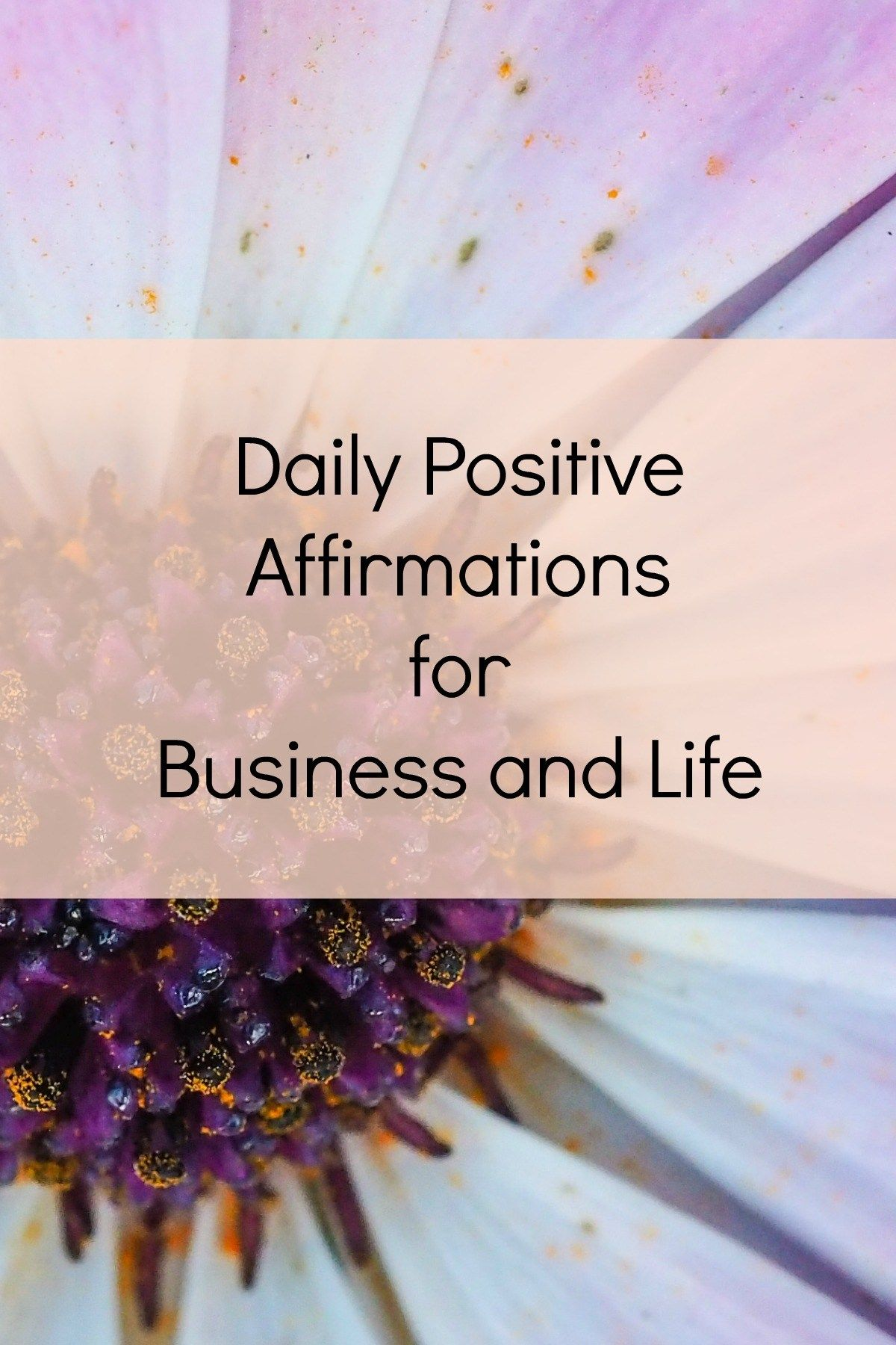 Daily Positive Quotes Daily Positive Affirmations For Business And Life  Daily Positive