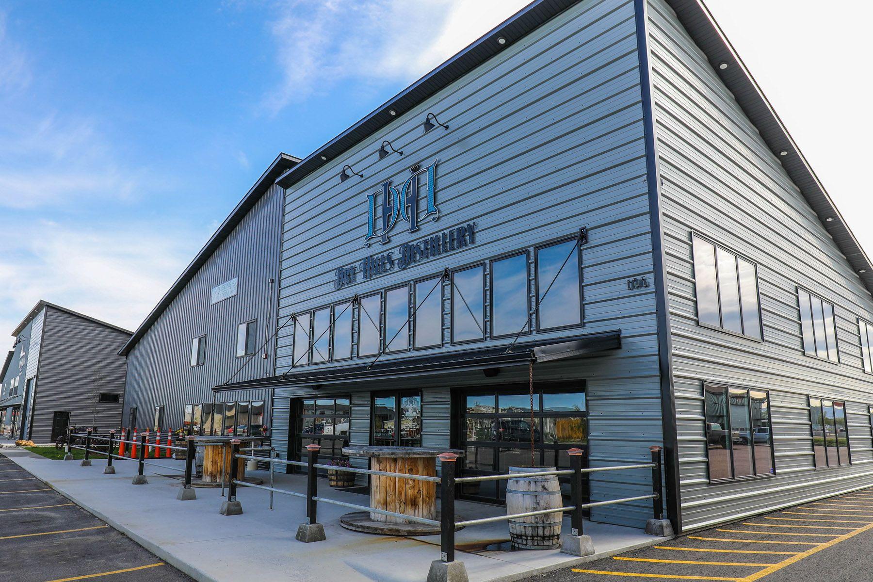 Tuf Rib Exterior Metal Siding Used For Distillery Metal Building Designs Metal Buildings Building Siding