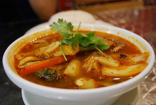 how to make tom yum soup vegetarian