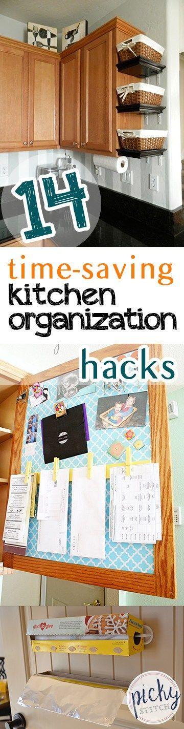 Kitchen Organization, Kitchen Organization Tips And Tricks, Easy Ways To  Organize Your Kitchen, Kitchen Storage Hacks, Storage Ideas, Home Organizau2026