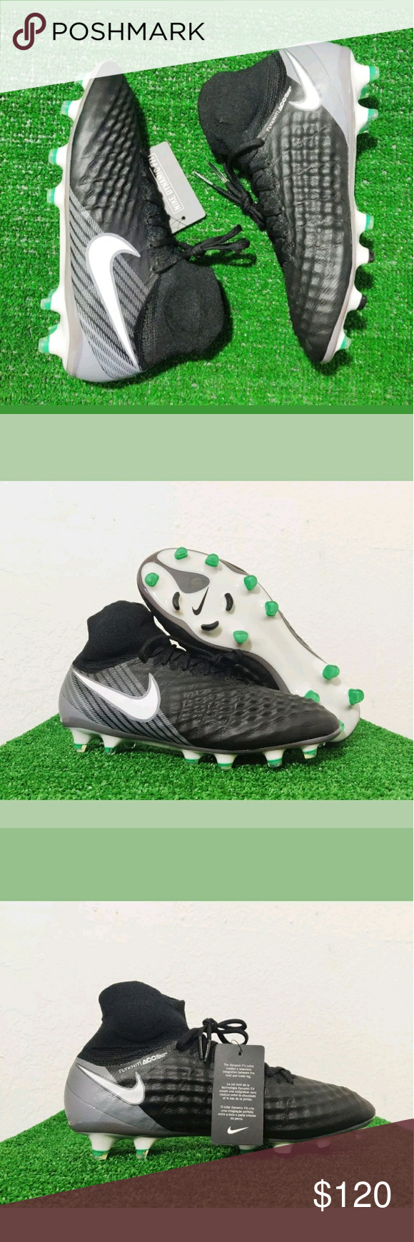 d85ee36d2 Nike Magista Obra II FG AG PRO ACC Soccer Cleats Brand New Without Box Nike  Magista Obra II FG AG PRO ACC Soccer Cleats Black 844595-002 Size 8 Nike  Shoes ...