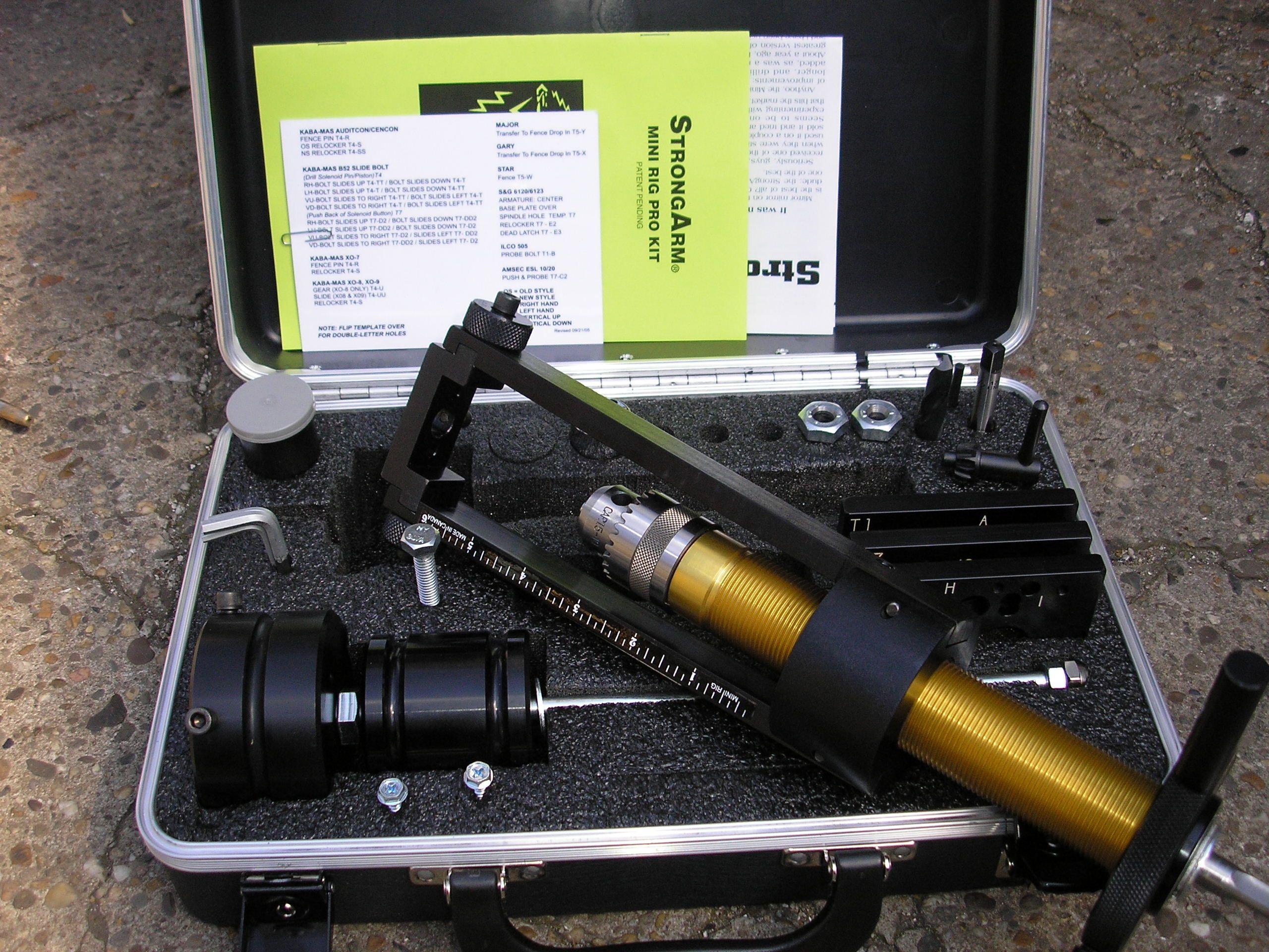 Drill rig setup and bits for safe crackin! | Drilling rig