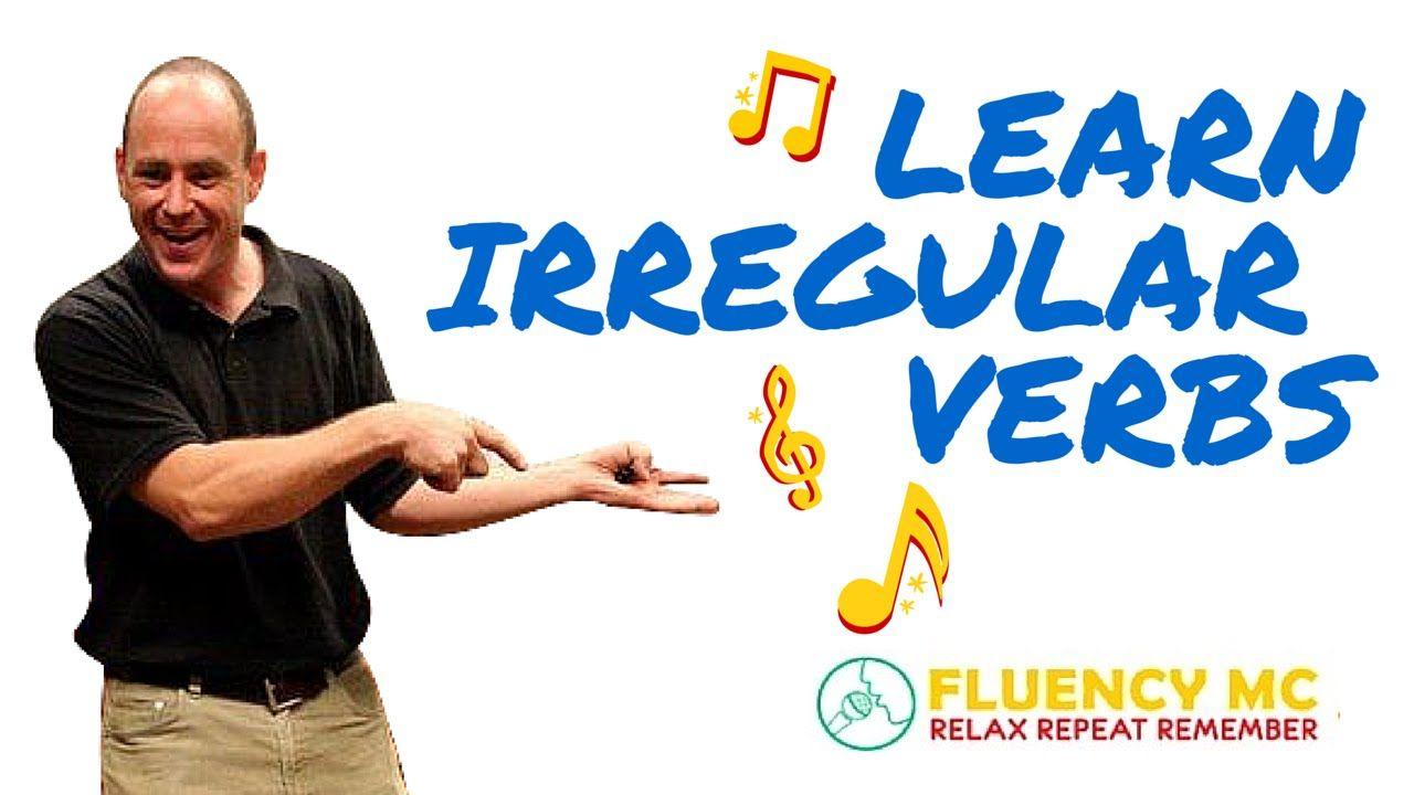 Learn English ESL Irregular Verbs Grammar Rap Song Stick
