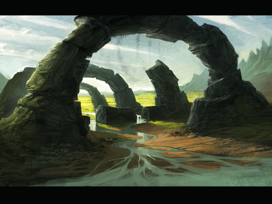 Landscape by *Farkwhad on deviantART