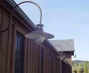 Industrial Outdoor Lighting Wall Mounted | Wall Mounted Gooseneck Lighting  Outdoor Fixtures Allows A Company To