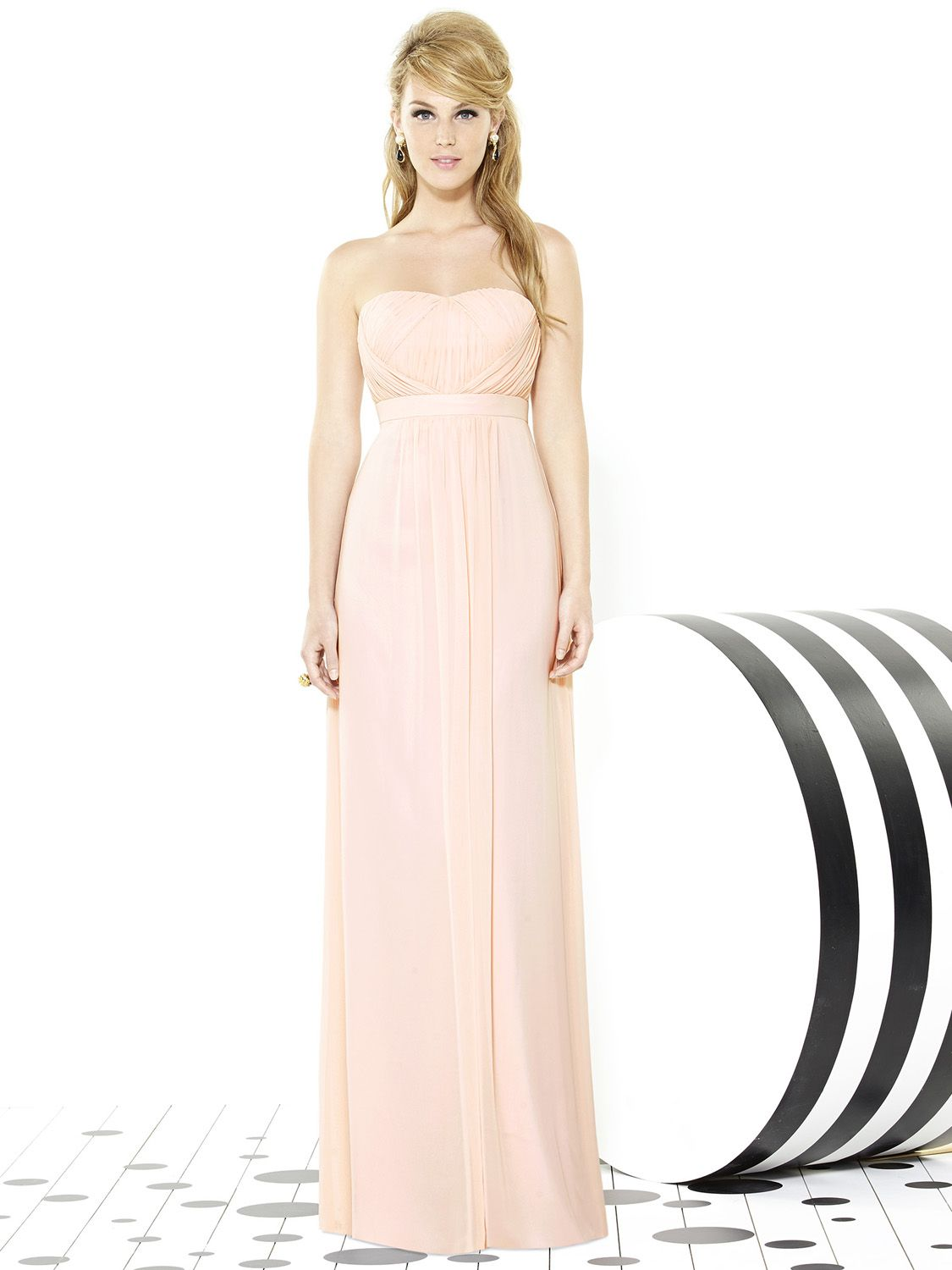 Beautiful blush gown pink peach bridesmaid dresses beautiful blush gown bridesmaid dress styleschiffon bridesmaid dressesdessy ombrellifo Image collections