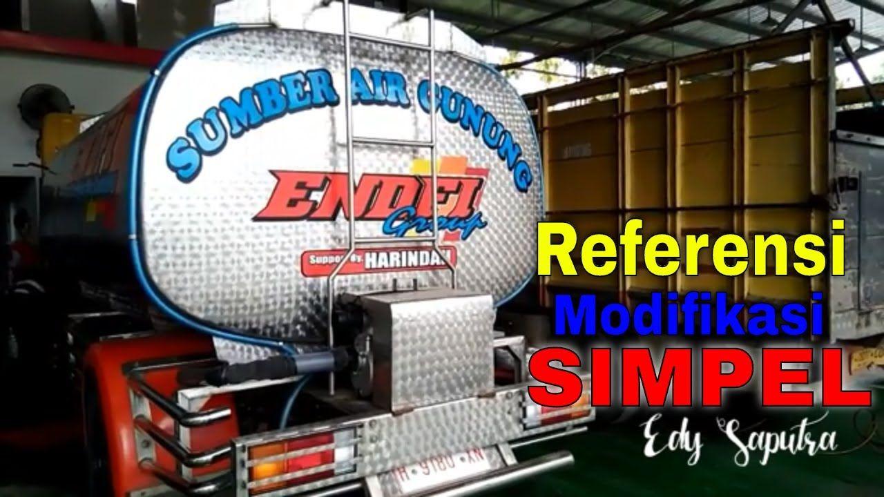 Review Modifikasi Truck Mitsubishi Canter Tangki Air Mobil Pengetahuan