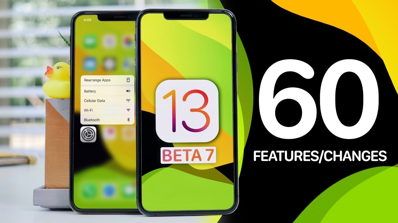 iOS 13 Beta 7! 60 New Features & Changes YouTube Apple