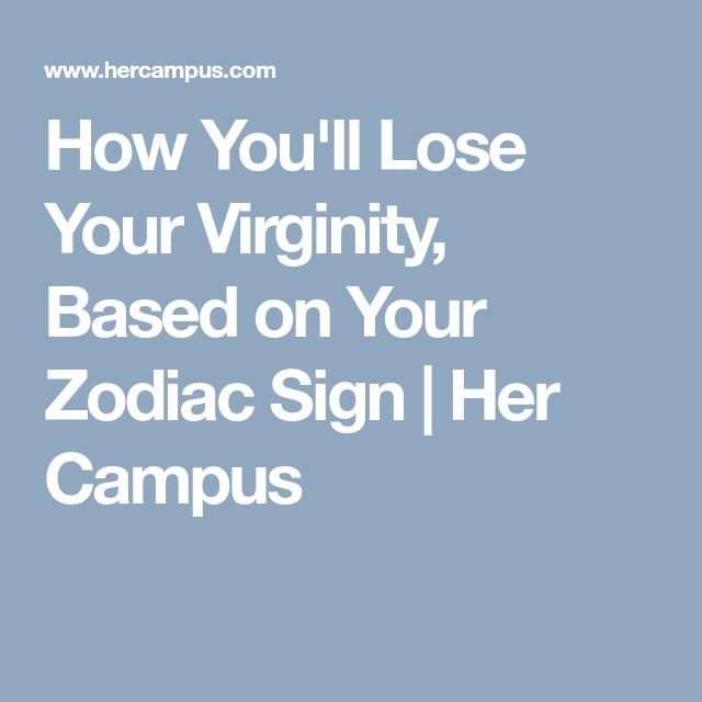 signs Lost virginity