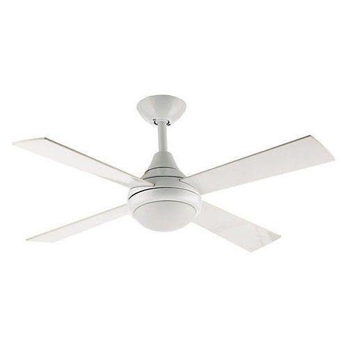 Fantasia Sigma Ceiling Fan 42in White Remote Ceiling Fan