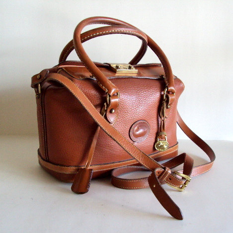 Vintage Dooney And Bourke Doctors Sdy Satchel Hand Bag 160 00 Via Etsy