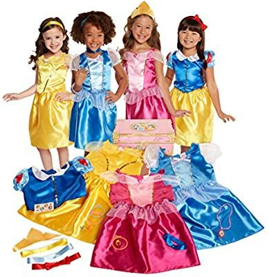 fda7e6a4b Amazon.com: Disney Princess 21-Piece Deluxe Dress-Up Trunk [Amazon  Exclusive]: Toys & Games. Find this Pin and more on 3 year old ...