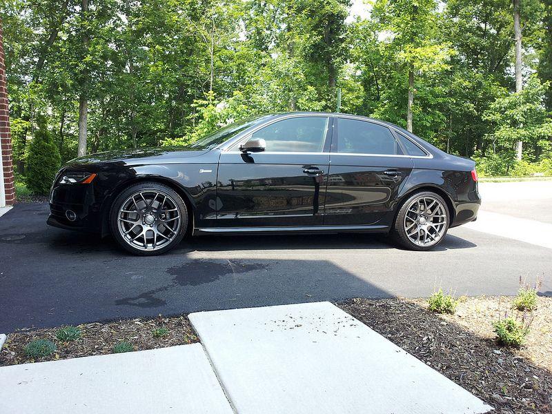 B8 Black Audi S4 | VMR V710