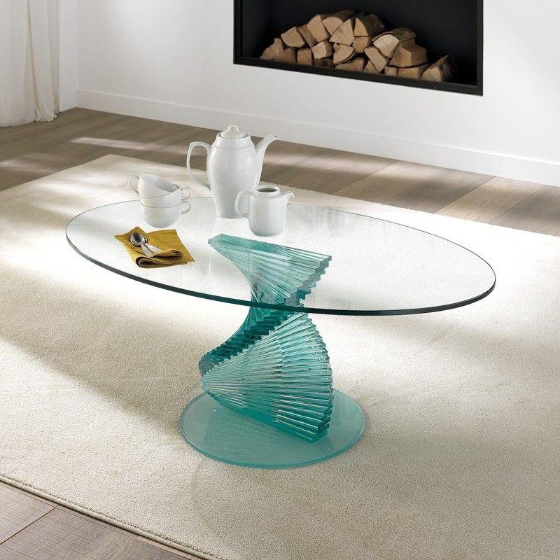 Tavolino+salotto+Angels+a+spirale+in+vetro+trasparente+12+mm | Vetro ...